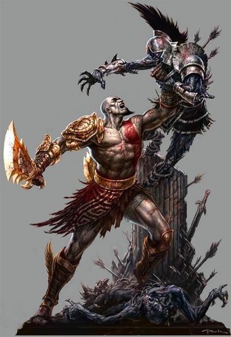 concept artwork: god of war III