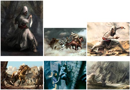 concept art: assassins creed I