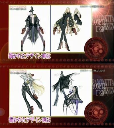 concept art: bayonetta title=