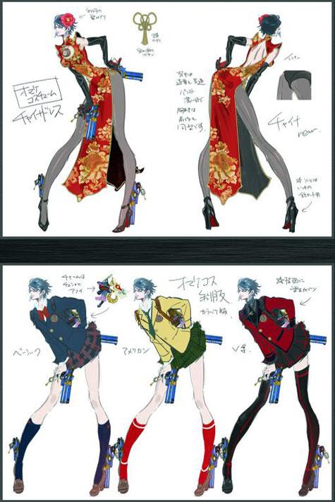 concept art: bayonetta 2