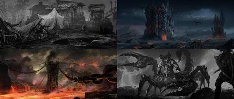 concept art: dark souls II