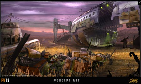 concept art: fallout mmo