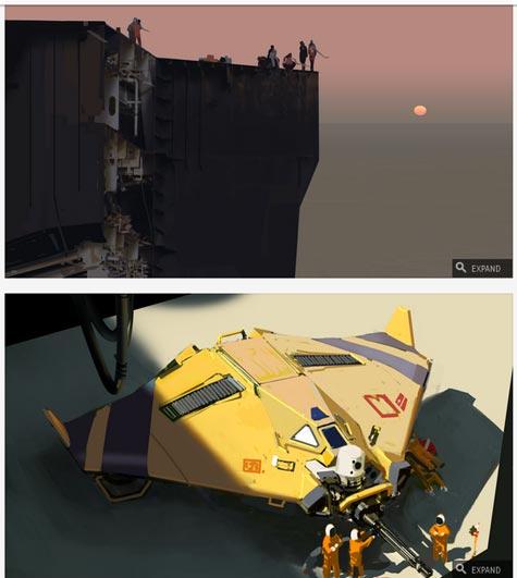 concept art: hardware: shipbreakers