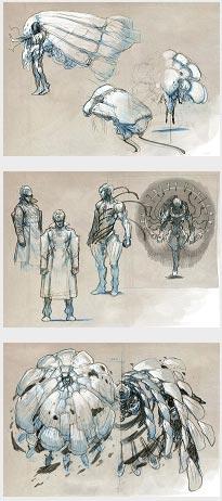 concept artwork: mistwalker