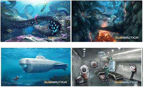 concept art: subnautica