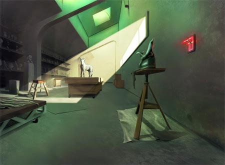 concept artwork: the witness
