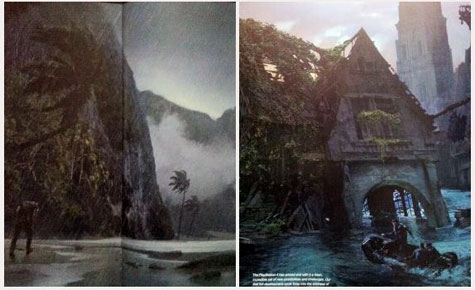 concept art: uncharted 4