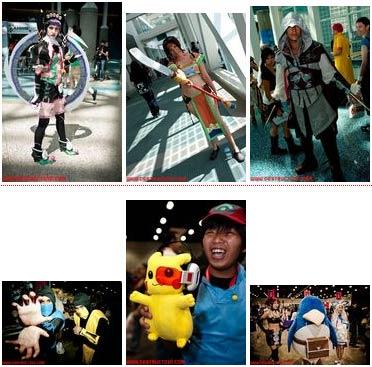 cosplay: anime expo 2009