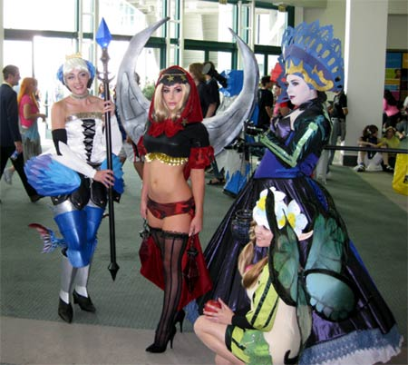 cosplay: anime-expo 2008