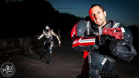 cosplay: mass effect 3