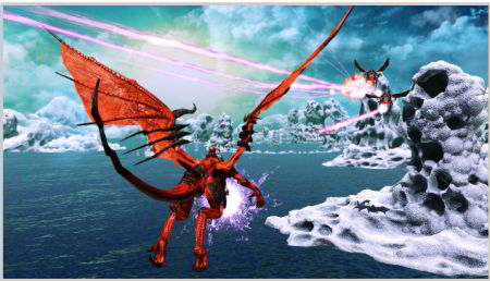 preview: crimson dragon