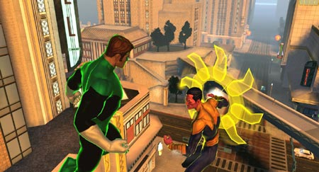 screenshots: dc universe online