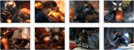 screenshots: dead or alive 5