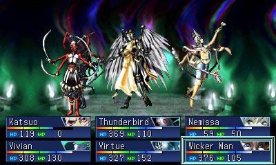 screenshots (II): devil summoner: soul hackers