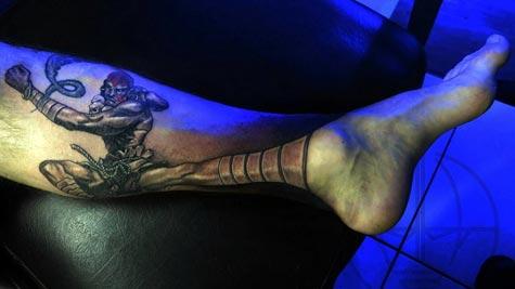 tattoo: dhalsim
