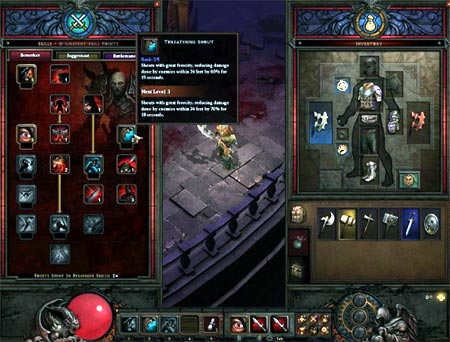 preview: diabloIII-interface