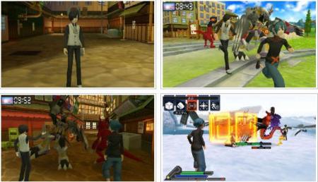 screenshots: digimon world re:digitize