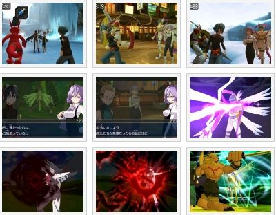 screens: digimon world: redigitize