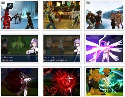 screens: digimon world: redigitize