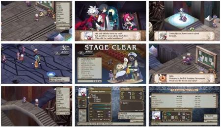 screenshots: disgaea 3