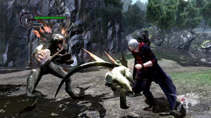 devil may cry 4: jungle-screens