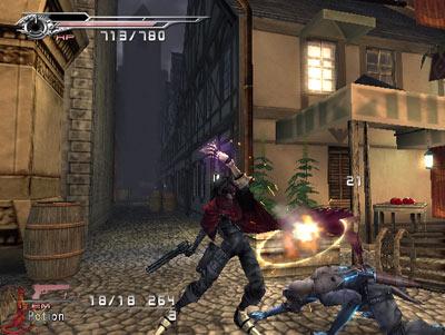 dirge of cerberus: in-game