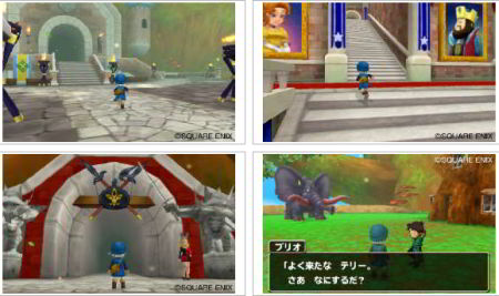 screenshots: dragon quest monsters: terry's wonderland 3D