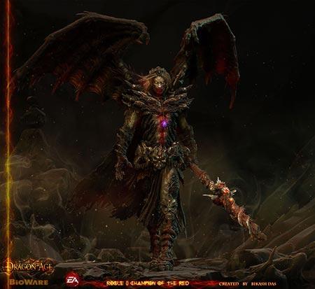 artwork: dragon age/mass effect cghub competition