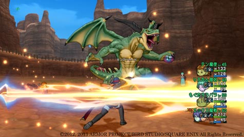 screenshots (VII): dragon quest X