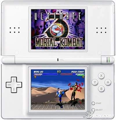 ds: mortal kombat