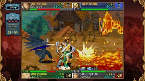 screenshots: dungeons & dragons: chronicles of mystara