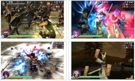 screenshots (II): dynasty warriors vs.