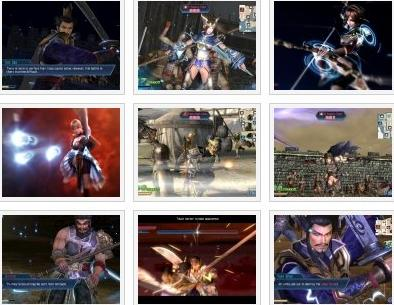 screenshots: dynasty warriors next