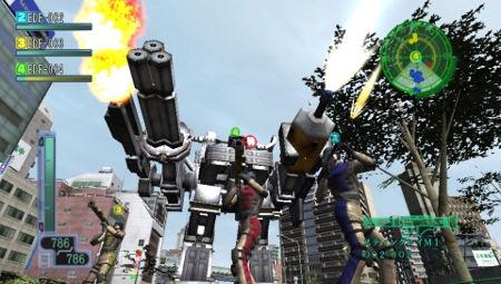 screenshots: earth defense force 3 portable