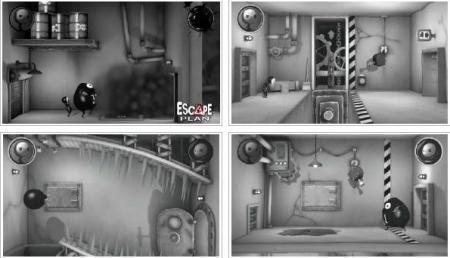 screenshots: escape plan