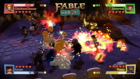 screens: fable heroes
