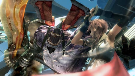 final fantasy XIII lightning gegen behemoth
