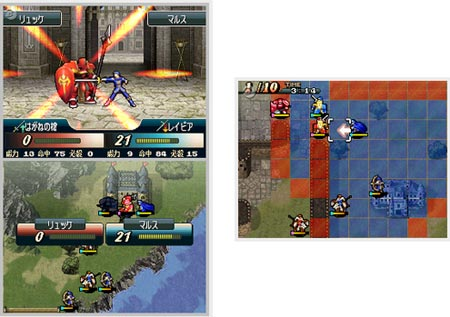 screens: fire emblem mystery of the emblem