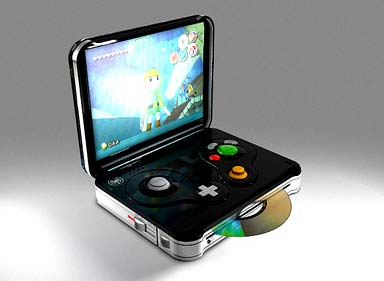 gamecube: advance portable