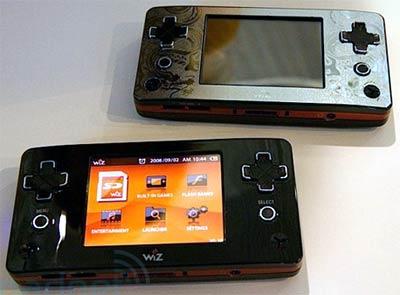 handheld: gamepark gp2x wiz