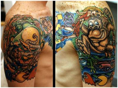 gamer-tattoo