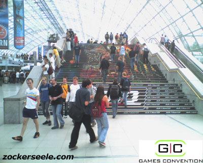 gc 2005 - treppe zu den messehallen