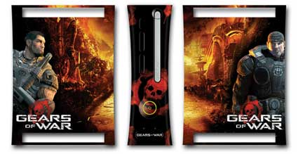 xbox 360: gears of war skins