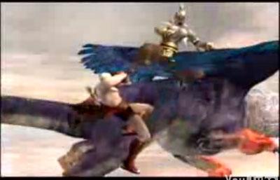 god of war 2: trailer