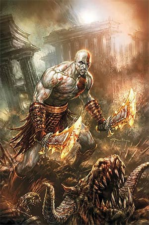 special: god of war comic