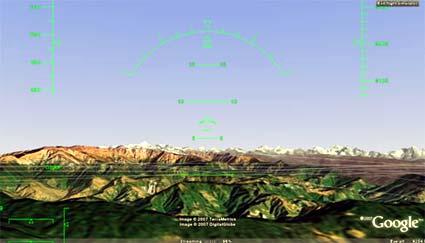 google earth: jetzt mit flugsimulator