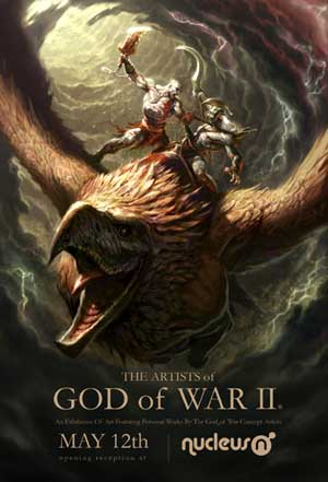 god of war 2: ausstellung