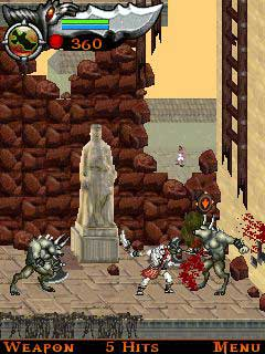 handy-games: god of war vs. snoop dogg