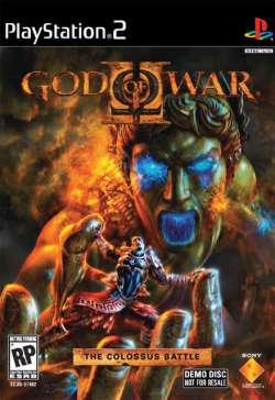 god of war II: demo und artwork