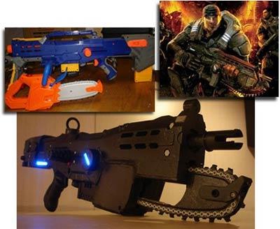 modding: gears of war knarre